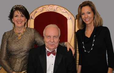 Honorary Chairs Diana and John Null with CAFB Executive Director Ruthanne Mefford (L)
