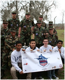Dulles AFJROTC members at Salute Shoot Event