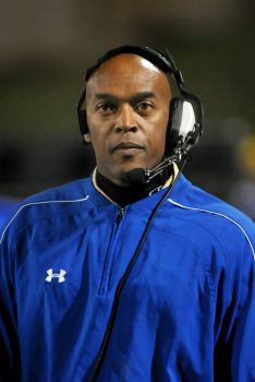 Dennis Brantley, Elkins High School Head Football Coach [photo by Jerry Baker]