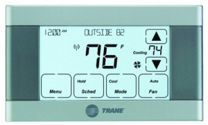 Don't Cool an Empty Home. Keep your thermostat around 78F when you're home and raise it to 82F when you're not.