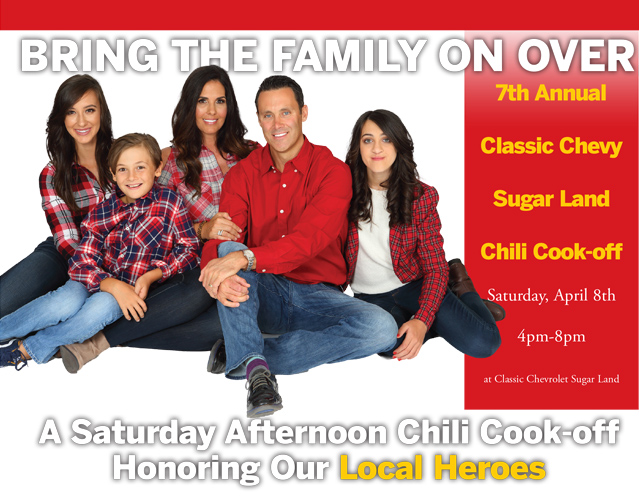 Superb Bring The Family On Overu2026A Saturday Afternoon Chili Cook Off Honoring Our  Local Heroes. Classic Chevrolet Sugar Land ...